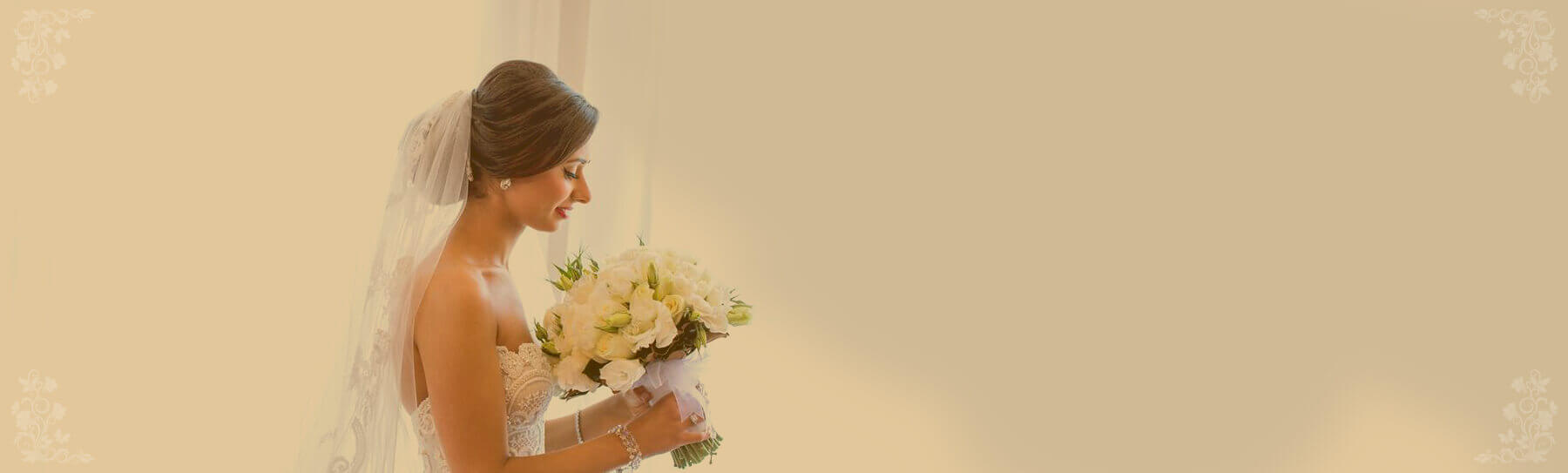 Bride with Beautiful Upstyle, Wedding Hairdresser